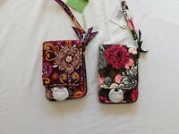 VERA BRADLEY Double ID Wristlet -  'Multiple Patterns'  - New with Tags