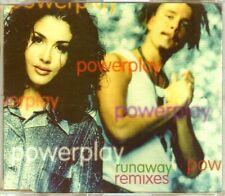 Powerplay - Runaway (Remixes) - CDM - 1995 - Eurodance 4TR Sweden Malmö Rare