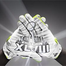 New Rare Limited Edition Broncos Nike Vapor Shield 2014 Super Bowl XLVIII Gloves