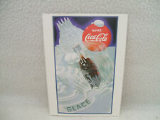 "Coca Cola Coke Post Card Advertising Quebec Ice King Buvez Reproduction 4"" x 6 """