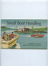 1965 Outboard Boating Club Of America Small Boat Handling Use of Boats Motors