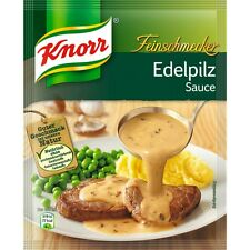 seven (7) Bags Knorr Edelpilz Sauce / Gourmet mushroom sauce New from Germany