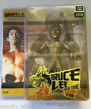 Bruce Lee Round 5 Walkoutwear Display Gold Action Figure Collectable Toy 1/750