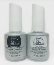 IBD Just Gel Polish-Nail Polish DUO Kit : Base & Top Coat 0.5oz/14ml
