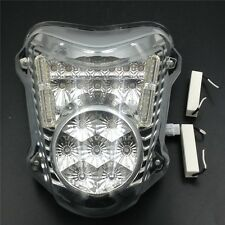 Clear Led Tail Brake Light Turn Signals For 2008-2012 Suzuki Hayabusa Gsx1300R
