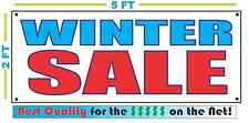 WINTER SALE Banner Sign NEW 2x5