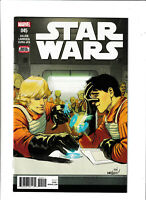 Star Wars #45 NM- 9.2 Marvel Comics Darth Vader Luke Han Solo Wedge 2018