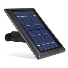 Solar Panel for Ring Spotlight Camera Power Your Ring New Solar Charger Black