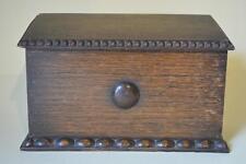 Carta De Roble Antiguo Caja estacionario