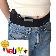*BRAND NEW* PREMIUM Handgun Pistol Concealed Carry Holster Belly Band, 3 Pockets