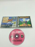 Sony PlayStation 1 PS1 PSOne Complete Tested Guardian's Crusade Ships Fast