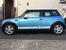 MINI COOPER SIDE  STRIPES DECALS  Available In Any Colour
