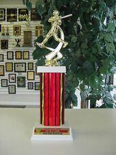 "High Quality Softball Trophy Little League Team Color on plate Award 14"""