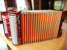 Hohner Corso, Melodeon C/F, Made in Germany, button accordion, accordéon. símil. Erica