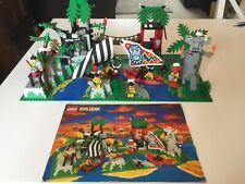 Vintage Lego Pirate 6278 Enchanted Island With Original Instructions Booklet