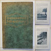 Orig. Prospekt Ostseebad Misdroy um 1925 Ortskunde Seebad Kurort Landeskunde xy
