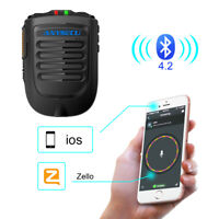 New Bluetooth PTT Microhpone for Ios System Moblie Phone work with Zello PTT