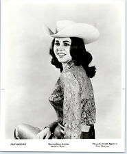 1960's JAN MOORE Vintage RODEO STAR Publicity Photo COUNTRY MUSIC