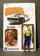 Custom 3 3/4 packaged figures of ... Dukes of Hazzard  Bo and Luke  Mego-esque