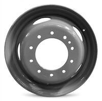 "Set Of 4 Wheels 19.5"" Steel Rim 05-20 Ford F450SD F550SD 10 Lug 10x225mm"