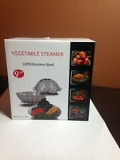 100% Stainless Steel Vegetable Steamer Basket/Insert for Pots, Pans (See Size)