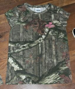NEW Girls Youth MOSSY OAK Break-Up Infinity Camo T-Shirt Tee Hunting