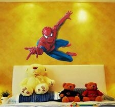 Spiderman 3D Home Decal Removable Kids Room Boy Sticker Decal Mural Decor Art