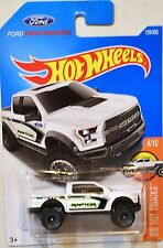 HOT WHEELS 2017 HW HOT TRUCK '17 FORD F-150 RAPTOR WHITE