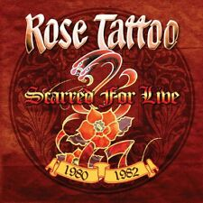 ROSE TATTOO - Scarred For Live LP Nice Boys Don't Play Rock n Roll Bad Boy Love