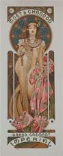 Mucha Foundation Fine Art Lithograph Moet and Chandon Dry Imperial Champagne S2