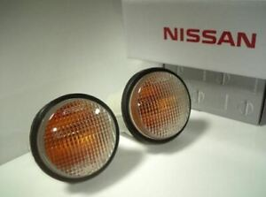 Nissan Skyline R33 GTR Clear Indicator Turn Signal Light LH & RH NISMO JDM