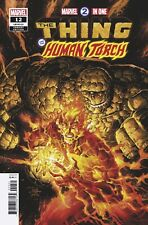 Marvel Two-In-One Thing & Human Torch #12 Tan Variant (Marvel, 2019) NM