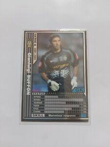Juventus - Gianluigi Buffon - Seria A 2001-02 Panini WCCF Trading Card