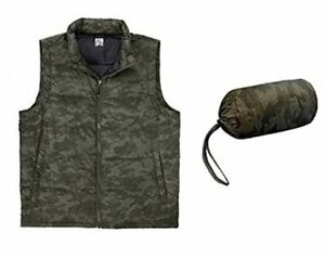 Weatherproof  Down Packable Vest with Storage Bag (Small 36 in Chest)