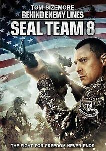 Seal Team 8: Behind Enemy Lines DVD War Action Movie - Tom Sizemore