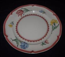 "Villeroy & Boch, Jardin D'Alsace Fleur, Floral Rim, Dinner Plate, 10 1/2"""