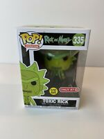 Funko Pop!Animation Rick and Morty -Toxic Rick #335 GITD Target Exclusive