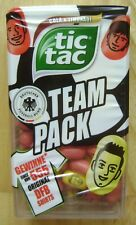 2018 TIC TAC PRINTED SWEETS 49g COLA & LIMONADE GERMANY TEAM PACK SOCCER WM