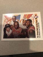 1991 Skybox 337 Bulls Starting Five + Michael Jordan