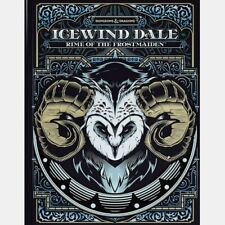 Icewind Dale Rime of The Frostmaiden D&d 5e Alt Cover Dungeons & Dragons