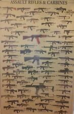 "International Military Weapon Identification Chart: [28""x18""] Ak Ar H&K Variants"