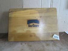 Marlboro Card Game & poker chips wood case game night