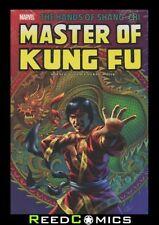 SHANG-CHI MASTER OF KUNG FU OMNIBUS VOLUME 2 HARDCOVER (664 Pages) New Hardback