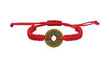 Lucky Chinese Coin Red Kabbalah Bracelet