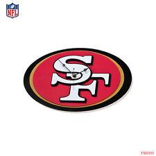 New NFL San Francisco 49ers 3-D Foam Wall Clock Made in USA by FoamFanatics