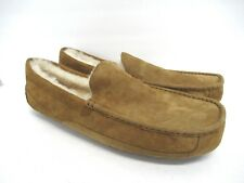 New! UGG Australia 5775 Ascot Suede Slipper in Chestnut Brown Men's Size: 18