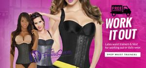 Ann Chery / Ann Michell / Colombian Waist Trainer Vest Cincher Fajate Body Hooks