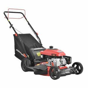 "Hot PowerSmart DB2194SR 21"" 3-in-1 170cc Gas Self Propelled Lawn Mower"