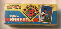 1990 Bowman Baseball Official Complete Set 528 Cards  Factory Sealed ***READ***