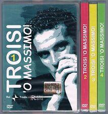 TROISI O'MASSIMO VOLUMI 1, 2, 3, 4 - 4 DVD RAI TRADE SIGILLATO!!!